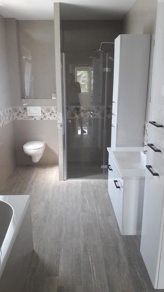 Kupatilo u montaznoj kuci 1